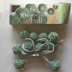 Other - Grapevine Ball Indoor/Outdoor Lights New in Box